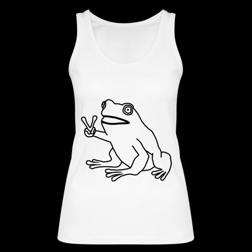 Funny Animal Frog Frosch - Frauen Bio Tank Top von Stanley & Stella