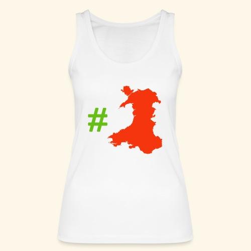 Hashtag Wales - Women's Organic Tank Top by Stanley & Stella