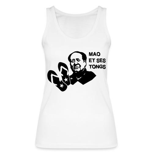 MAO et ses tongs - Débardeur bio Femme