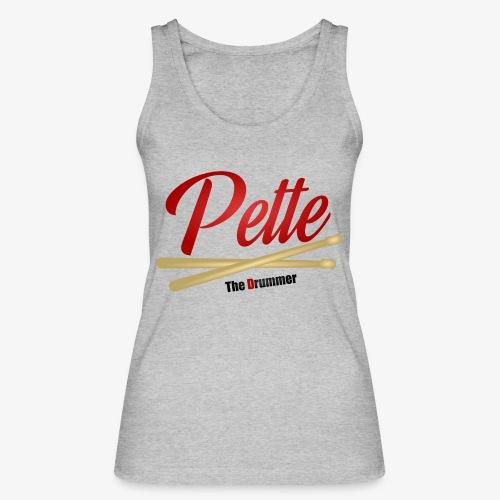 Pette the Drummer - Women's Organic Tank Top by Stanley & Stella