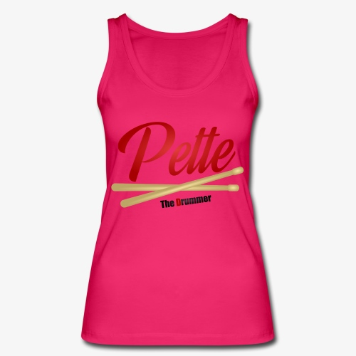 Pette the Drummer - Women's Organic Tank Top by Stanley & Stella