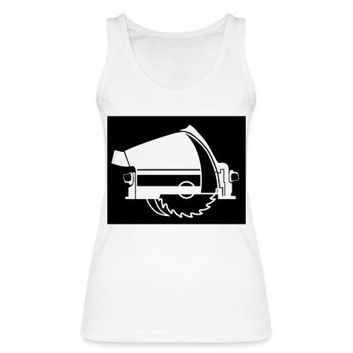saw - Women's Organic Tank Top by Stanley & Stella