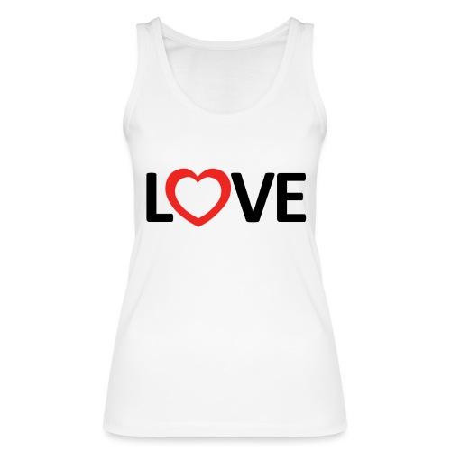 Love - Camiseta de tirantes ecológica mujer de Stanley & Stella
