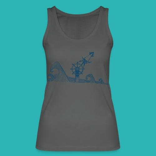 Carta_timone_blu-png - Top ecologico da donna di Stanley & Stella
