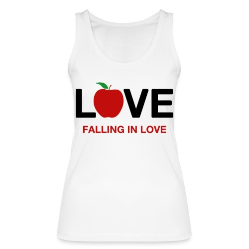 Falling in Love - Black - Women's Organic Tank Top by Stanley & Stella