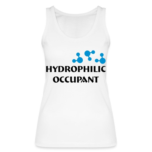 Hydrophilic Occupant (2 colour vector graphic) - Women's Organic Tank Top by Stanley & Stella
