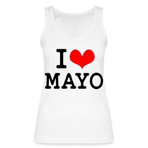 I Love Mayo - Women's Organic Tank Top by Stanley & Stella