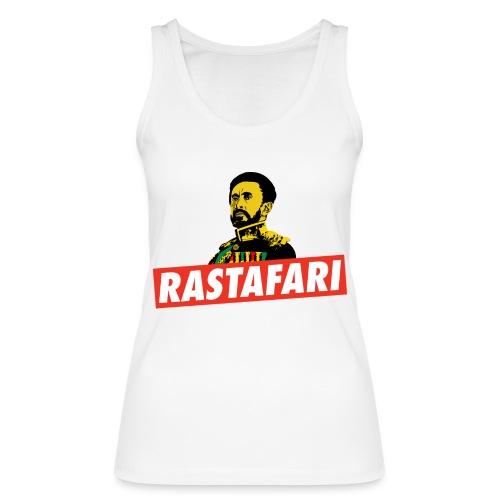 Rastafari - Haile Selassie - HIM - Jah Rastafara - Frauen Bio Tank Top von Stanley & Stella