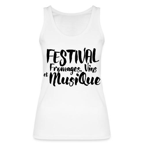 Festival FVM - Débardeur bio Femme
