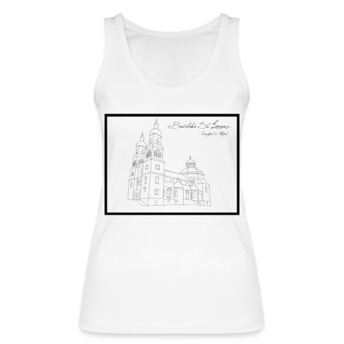 T Shirt Basilika St Lorenz Kempten Allgaeu - Frauen Bio Tank Top von Stanley & Stella