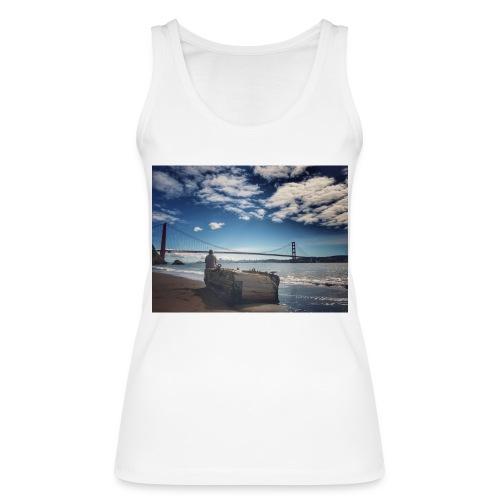 poncio - Camiseta de tirantes ecológica mujer de Stanley & Stella