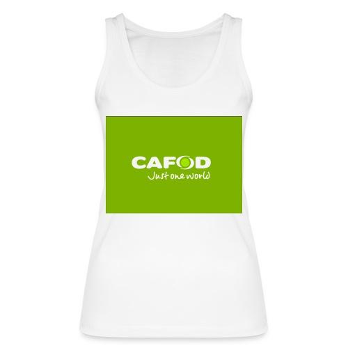 CAFOD Logo greenback - Women's Organic Tank Top by Stanley & Stella