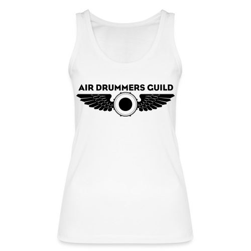 ADG Drum'n'Wings Emblem - Women's Organic Tank Top by Stanley & Stella
