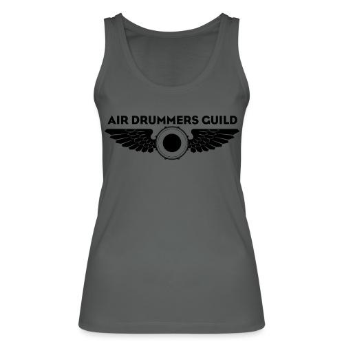 ADG Drum'n'Wings Emblem - Women's Organic Tank Top by Stanley & Stella