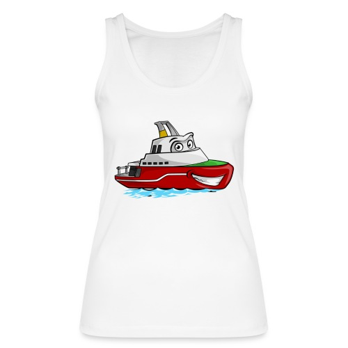 Boaty McBoatface - Women's Organic Tank Top by Stanley & Stella