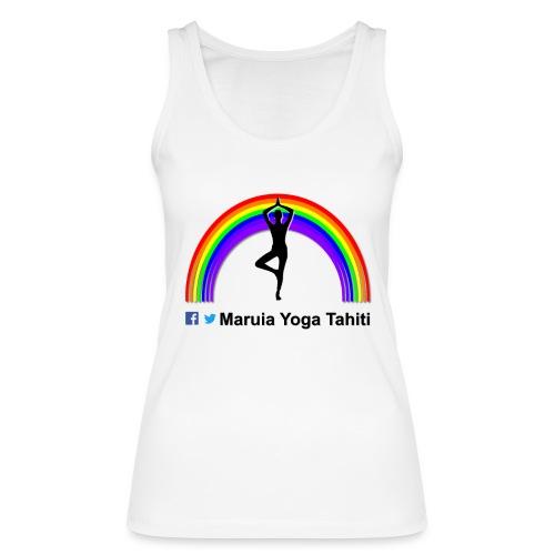 Logo de Maruia Yoga Tahiti - Débardeur bio Femme