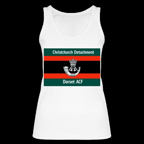 Christchurch Detachment / Dorset ACF - Women's Organic Tank Top by Stanley & Stella