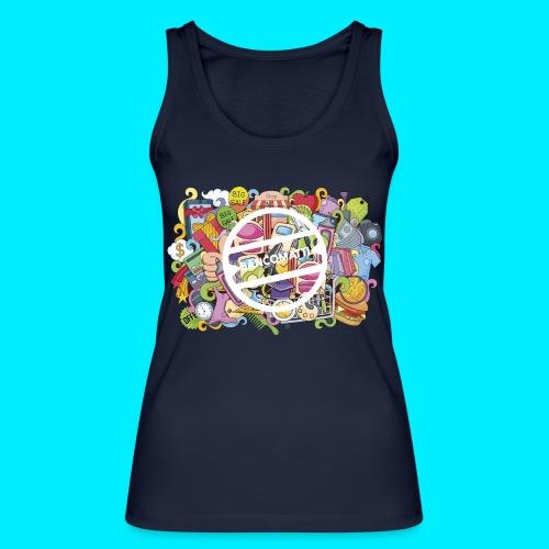 maglia logo doodle - Top ecologico da donna di Stanley & Stella