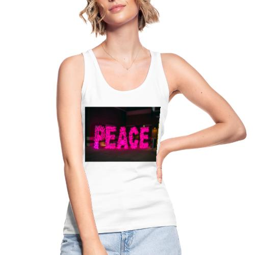paz - Camiseta de tirantes ecológica mujer de Stanley & Stella