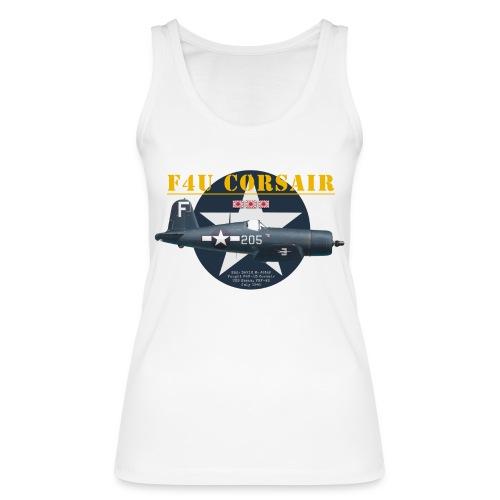 F4U Jeter VBF-83 - Women's Organic Tank Top by Stanley & Stella