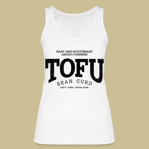 Tofu (black oldstyle) - Frauen Bio Tank Top von Stanley & Stella