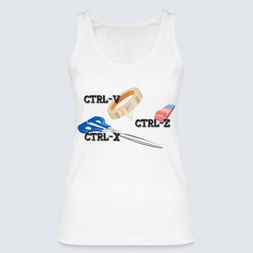 ctrl-c ctrl-x ctrl-z - Frauen Bio Tank Top von Stanley & Stella