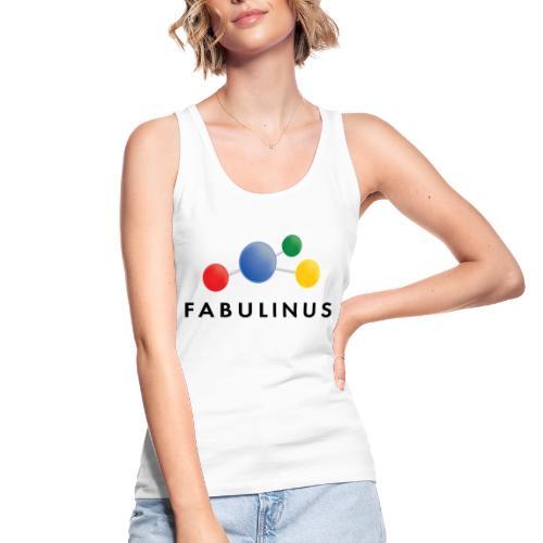 Fabulinus logo dubbelzijdig - Vrouwen bio tanktop van Stanley & Stella