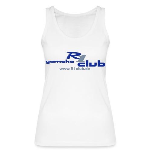 R1club Logo blau - Frauen Bio Tank Top von Stanley & Stella