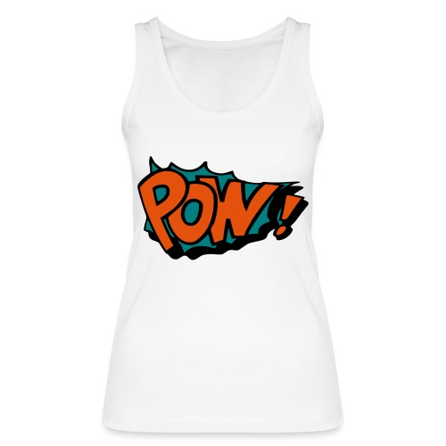 Comic pow! - Women's Organic Tank Top by Stanley & Stella