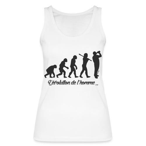 évolution homme (H) - Débardeur bio Femme