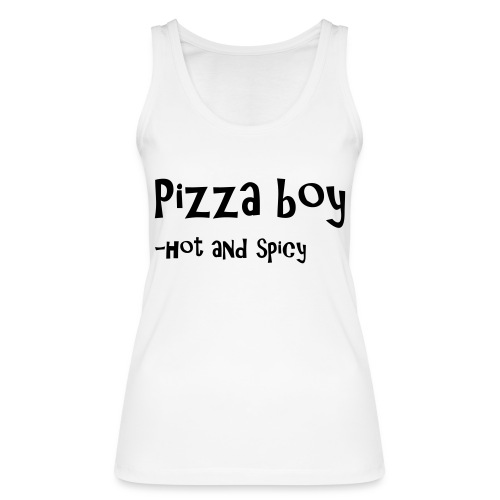 Pizza boy - Økologisk singlet for kvinner fra Stanley & Stella