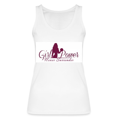 GIRL POWER NEVER SURRENDER - Camiseta de tirantes ecológica mujer de Stanley & Stella