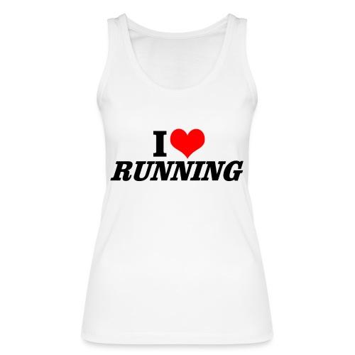 I love running - Frauen Bio Tank Top von Stanley & Stella