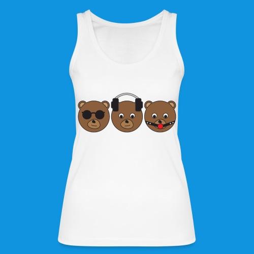 3 Wise Bears - Women's Organic Tank Top by Stanley & Stella