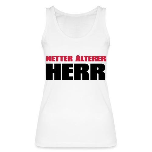 Netter älterter Herr - Frauen Bio Tank Top von Stanley & Stella