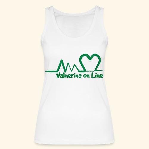logo verde Associazione Valnerina On line - Top ecologico da donna di Stanley & Stella