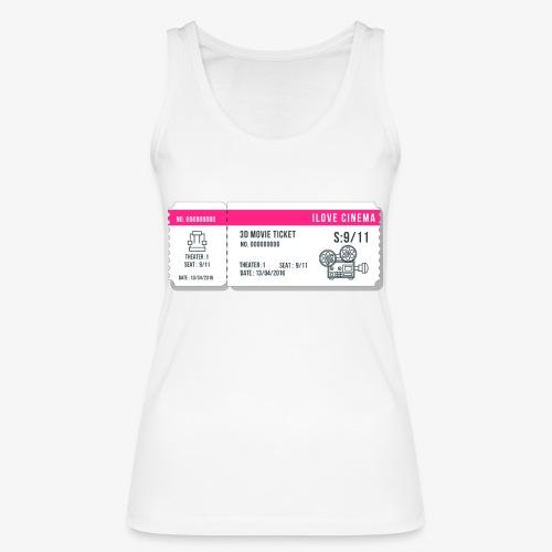 Cinema 2 - Camiseta de tirantes ecológica mujer de Stanley & Stella