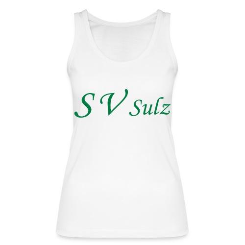 svs schrift 2 - Frauen Bio Tank Top von Stanley & Stella
