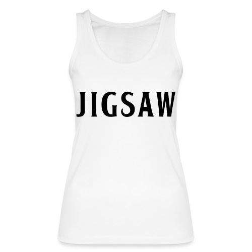 JigSaw Black - Women's Organic Tank Top by Stanley & Stella