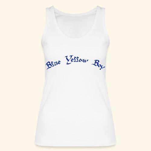 Blue Yellow Boy gebogen - Frauen Bio Tank Top von Stanley & Stella