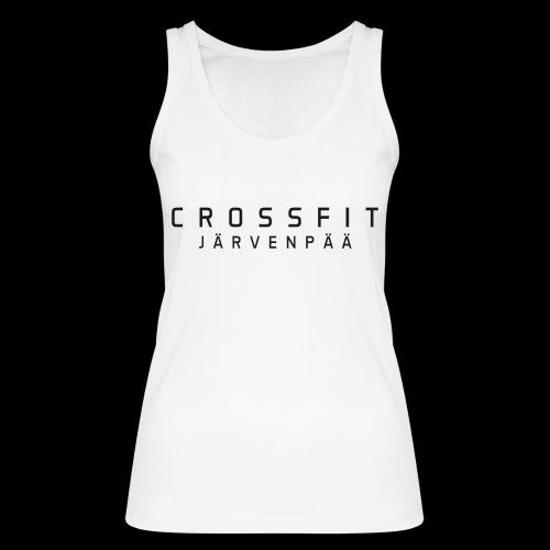 CrossFit Järvenpää mustateksti - Stanley & Stellan naisten luomutanktoppi
