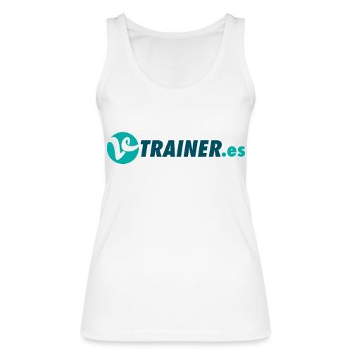 VTRAINER.es - Camiseta de tirantes ecológica mujer de Stanley & Stella