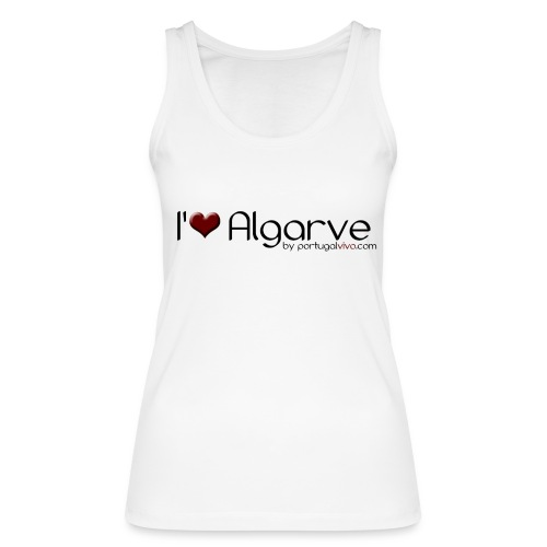 I Love Algarve - Débardeur bio Femme