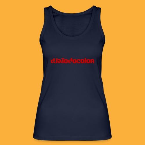 DJATODOCOLOR LOGO ROJO - Camiseta de tirantes ecológica mujer de Stanley & Stella