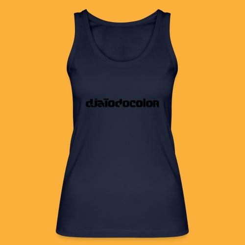 DJATODOCOLOR LOGO NEGRO - Camiseta de tirantes ecológica mujer de Stanley & Stella