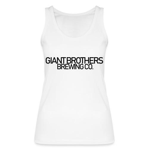 Giant Brothers Brewing co SVART - Ekologisk tanktopp dam från Stanley & Stella