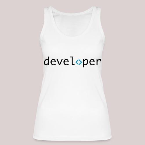 developer, coder, geek, hipster, nerd - Frauen Bio Tank Top von Stanley & Stella