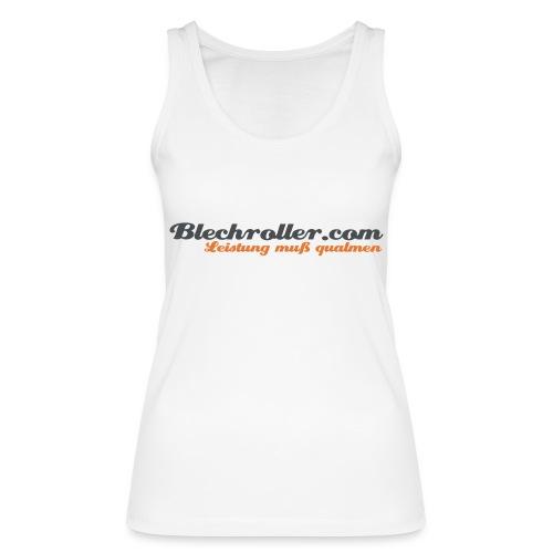 blechroller logo - Frauen Bio Tank Top von Stanley & Stella