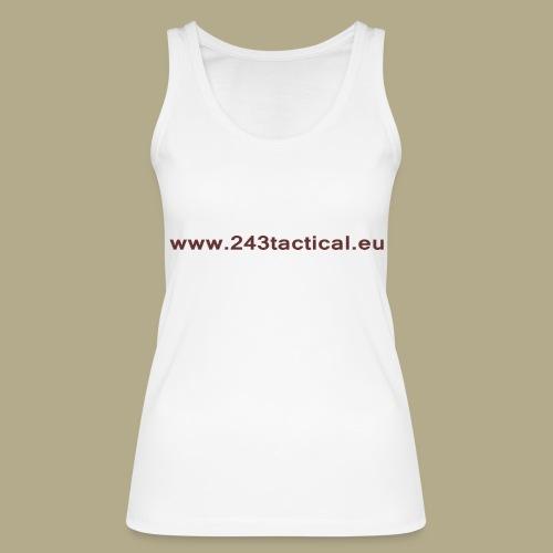 .243 Tactical Website - Vrouwen bio tanktop van Stanley & Stella
