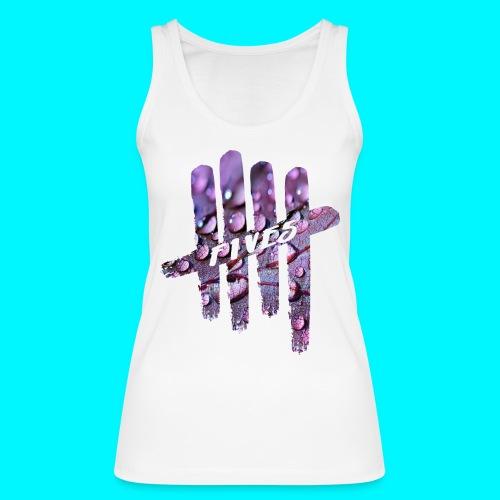 FIVES purple drops - Débardeur bio Femme